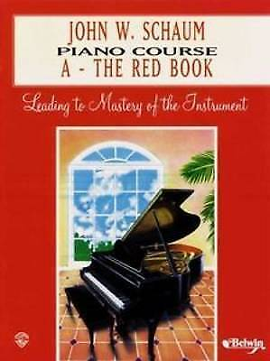 Piano Course a Book (Red) by John W Schaum (Paperback / softback, 1999) #P