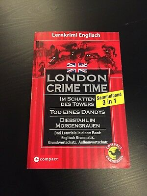 Lernkrimi Englisch | London Crime Time Sammelband 3 in 1 | Sprachniveau B1-B2