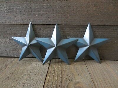 "8/"" Royal Blue Barn Star Metal Primitive"