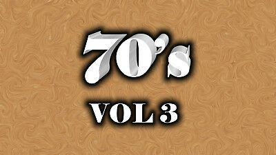 70s Music Videos Vol 3 (3 DVD's) 68 Music Videos