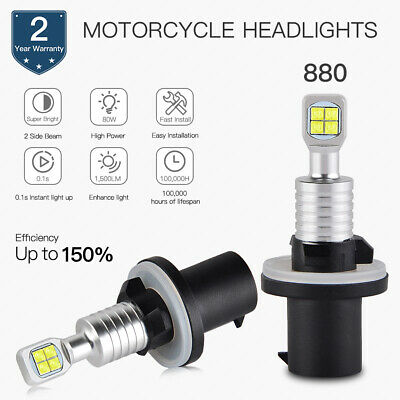 BEVINSEE 880 LED Headlight Bulb For Arctic Cat 250 300 375