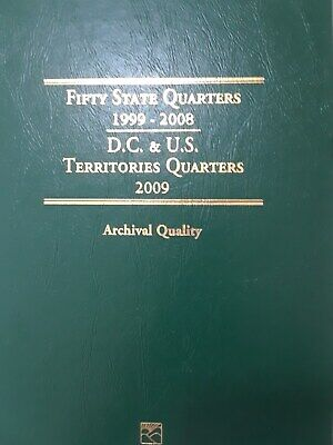 1999  2008 State Quarters Album Set COMPLETE 50 UNCIRCULATED + 32 MORE NATIONAL