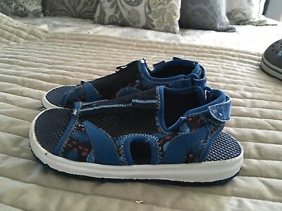 a26cda349f8c BOYS PLAE SHOES Mimo Water Shoes Navy Blue Size 10 -  17.00