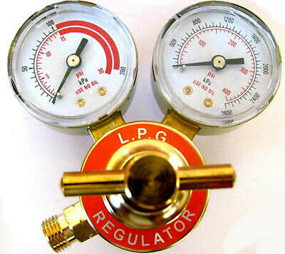 Propane/Acetylene Regulator, CGA 200 in, B size out, Smith TYPE Torch regulator