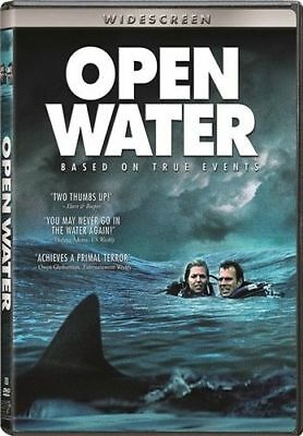 OPEN WATER New Sealed DVD..SUSPENSE FULL MOVIE...FREE FAST SHIPPING!