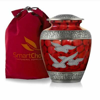 SmartChoice Wings of Freedom Cremation Urn for Human Ashes - Affordable Funeral