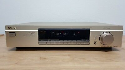 Sony ST-SA3ES Gold High-End Stereo FM/AM Tuner