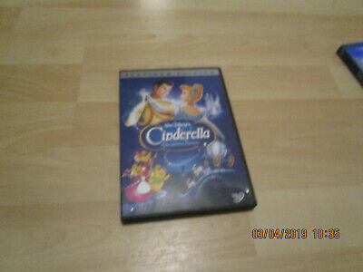 Cinderella (DVD, 2005, 2-Disc Set, Special Edition - DVD Platinum Collection) !!