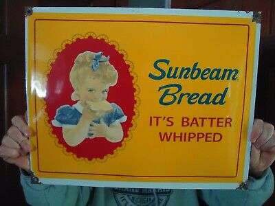 VINTAGE TOWN TALK Bread Sign It's Twisted - $175 00 | PicClick