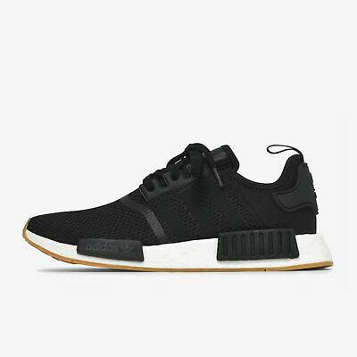 28efa97e1 DEADSTOCK ADIDAS MEN S NMD R1 ORIGINALS BLACK   WHITE   GUM B42200 Mens 8.5