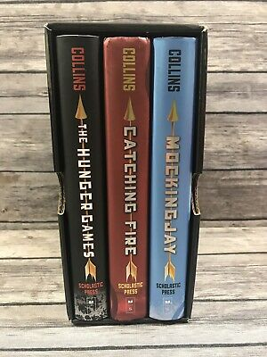 All The Hunger Games Trilogy Box Set, Complete Hardcover 1-3 Suzanne Collins