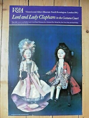 Original Poster Lord and Lady Chapman Costume Victoria & Albert Museum