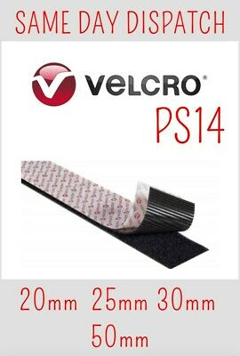 VELCRO® GENUINE BRAND PS14 SELF ADHESIVE TAPE HOOK & LOOP 20mm,25mm,30mm,50mm