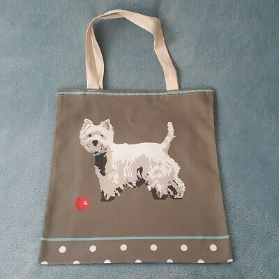 Westie Tote Bag By Betty Boyns Great Gift For Westie Fans Fast Despatch