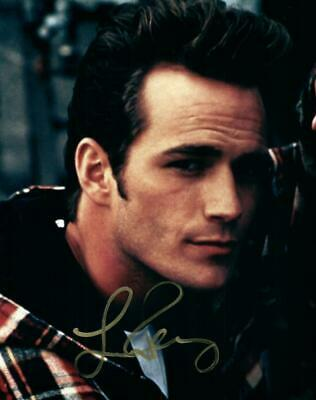Luke Perry 8x10 Autographed Photo Picture signed Pic with COA