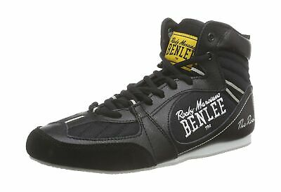 BENLEE Rocky Marciano The Rock Mens Boxing Boots Black 41