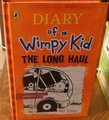 The Long Haul (Diary of a Wimpy Kid book 9) (Hardcover)-Kinney, Jeff