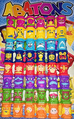 Set 45 Abatons Totally Totems Humans Rare Panini Combined Shipping Star Wars