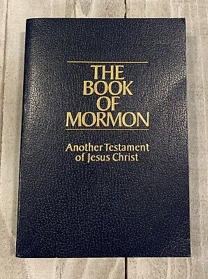 THE BOOK OF MORMON • Another Testament Of Jesus Christ • Joseph Smith • Like New