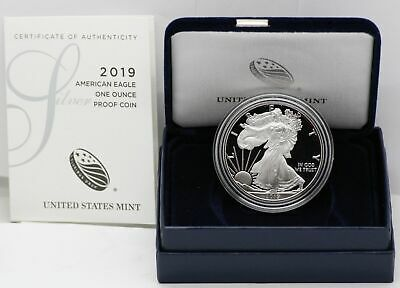 American Eagle 2019 One Ounce Silver Proof Coin - 19EA