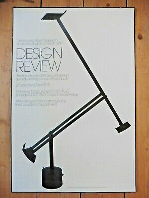 Original Poster Design Review V&A 1975 Richard Sapper