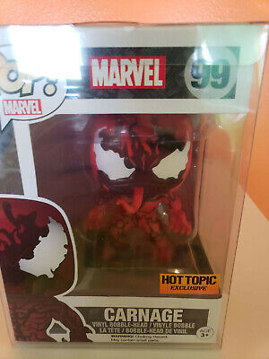 Funko Pop Marvel Carnage Hot Topic Exclusive
