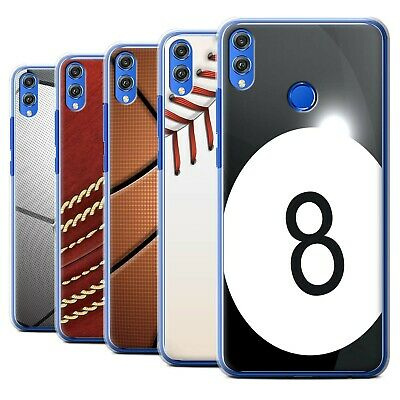 STUFF4 PHONE CASE/BACK Cover for Huawei Honor 8X/View 10 Lite /Sports Balls