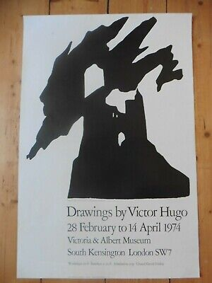 Original Poster Affiche Drawings by Victor Hugo 1974