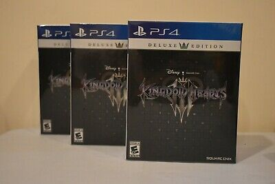 Kingdom Hearts 3 Deluxe Edition - PS4 - BRAND NEW -  SHIPS WORLDWIDE