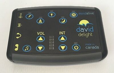 Mind Alive David Delight Light & Sound Machine without Glasses or Headphones