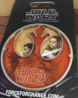 Star Wars  Disney Pin Force For Change Large For Unicef Beautiful