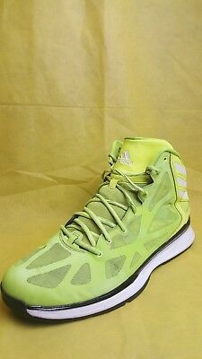 buy popular ce5cc f7ab8 Adidas Crazy Shadow 2 Neon GreenBlack Basketball Shoes Mens ...