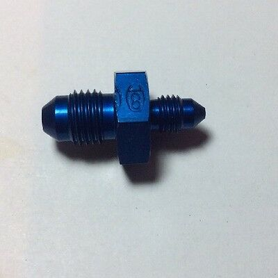 """NOS AN JIC Reducer 1/4"""" To 1/8"""" Pipe AN919-1D qty 2 (E)"""