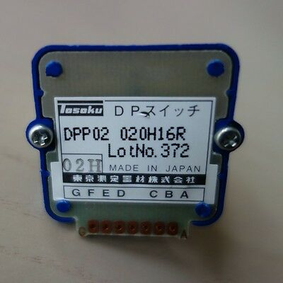 1PC NEW TOSOKU 02H/DPP02020H16R Switch for Pulse Generator #H3294 YD