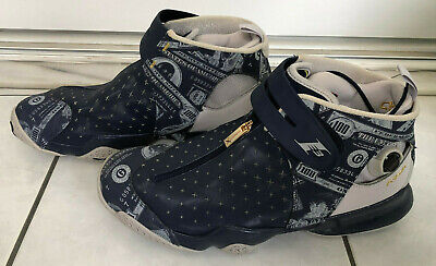 937e8c17947 Reebok Answer 10 X Allen Iverson Pump Up Blue Money Printed All Star US 11.5