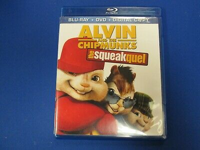 Alvin and the Chipmunks: The Squeakquel - Blu-ray + Dvd