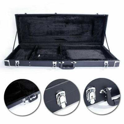 """41"""" Universal Electric Guitar Hard Case Shell Lockable Leather"""