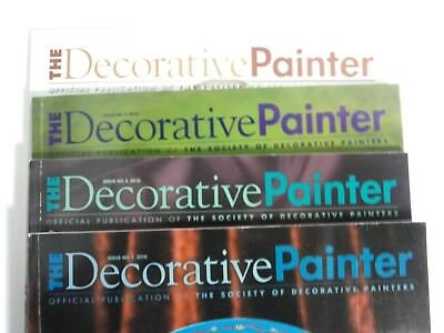 4 The Decorative PAINTER Magazine Books Three 2010 Issues & One 2011 Issue