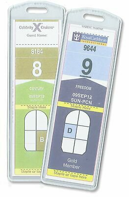 Cruisetags NARROW Cruise Ship Luggage Tags 8 Pack Free Shipping