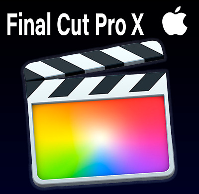 FINAL CUT PRO 10.4.3 for MacOS INSTANT DOWNLOAD A10.13 High Sierra,10.14 Mojave