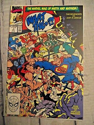 What The?! #7 Avengers vs Justice League parody 1988 Thor Wonder Woman FNVF