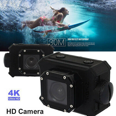 AB6A Precise Waterproof Camera Action Camera Super Wide Angle Lens