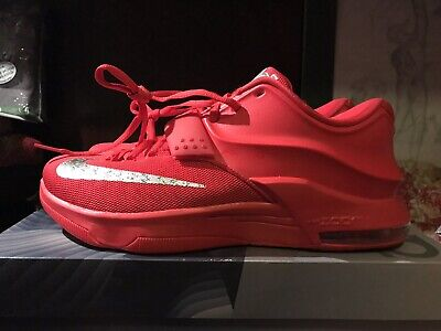 newest 12e51 2b5b7 NIKE KD 7 VII Global Game Red CLEAN bred Supreme Paris RARE size 9.5 WTKD
