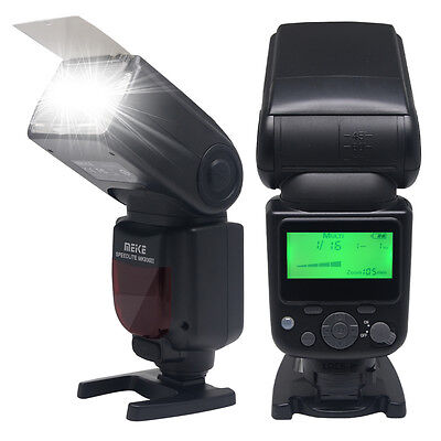 Meike MK930II-S GN58 Flash Speedlite LCD Display for Sony Alpha E-Mount Camera