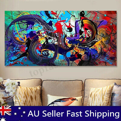 Modern Abstract Canvas Print Painting Art Poster Prints Home Wall Decor Unframed