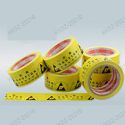 Anti-static Hazard Warning Rolls Self Adhesive Floor Safety Security 45mm*22m
