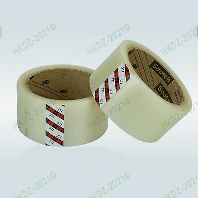 Clear Strong Parcel Packing Tape Carton Sealing 48mm X 50m Sellotape Packaging