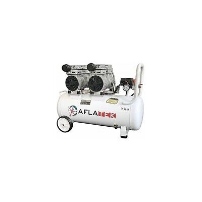 Pro 50l Silent Compressor Pneumatic only 67dB Quiet Oil-Free Air Compressor