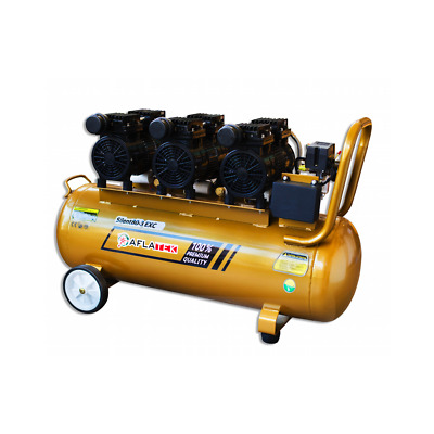 80L Whisper Silent Air Pressure Compressor 1800W 69dB Quiet Oil-Free