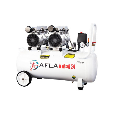 Whisper Silent Compressor 50L Pneumatic Air Pressure Quiet Oil-Free 67 Db